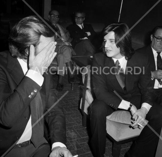 De Sica Cristian con Franco Fabrizi 1971-099