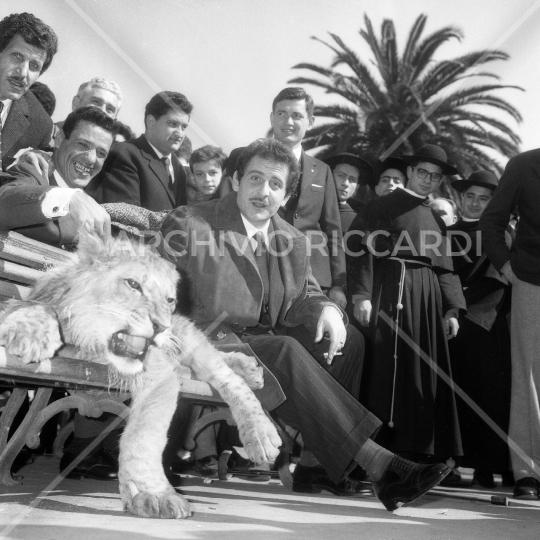 Domenico Modugno - con Franco e Ciccio - 1961006