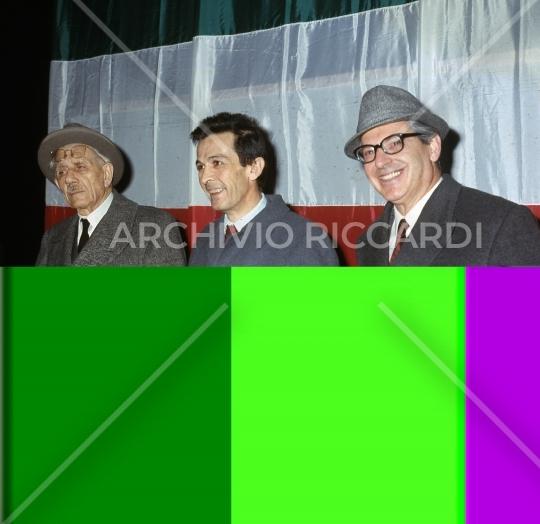 Enrico Berlinguer - con Ferruccio Parri - 81