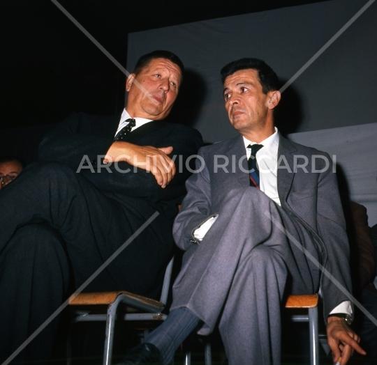 Enrico Berlinguer - con Giorgio Amendola - 087