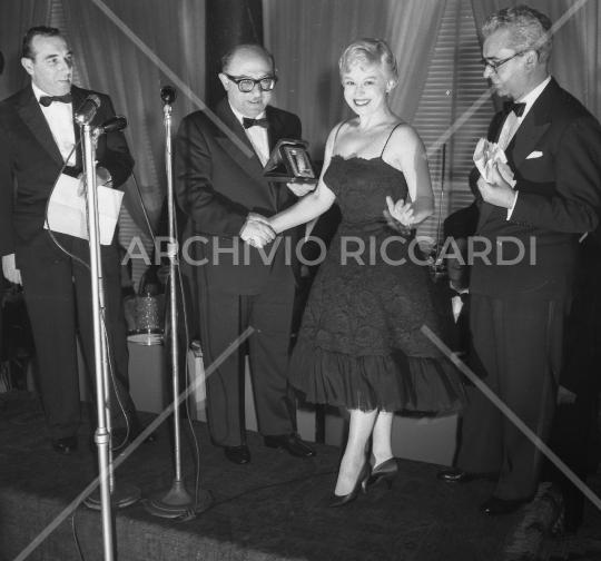 Giulietta Masina maschere d argento 1958-083