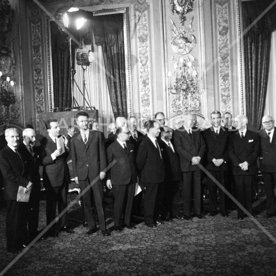 Giuramento  Governo Moro I - 1963 (8)