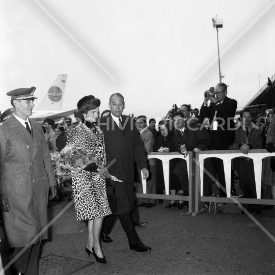Jacqueline Kennedy - 1962 - Aeroporto Fiumicino - 12