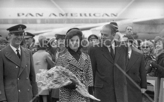 Jacqueline Kennedy - 1962 - Aeroporto Fiumicino - 13