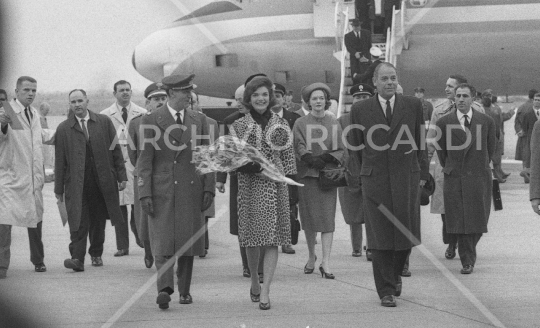 Jacqueline Kennedy - 1962 - Aeroporto Fiumicino - 14