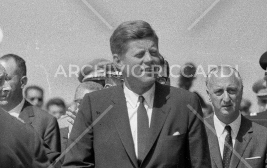 John Fitzgerald Kennedy - 1963 - visita Roma - 1 Luglio - 22