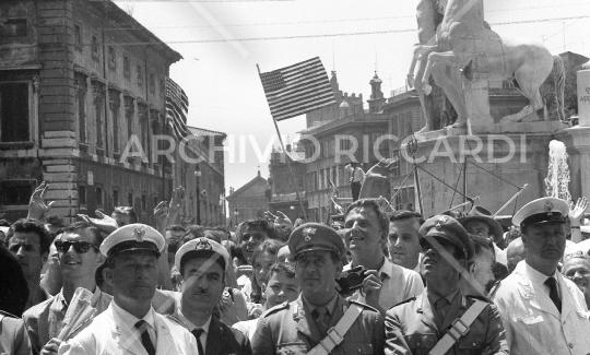 John Fitzgerald Kennedy - 1963 - visita Roma - 1 Luglio - 23