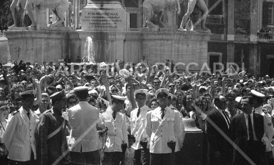 John Fitzgerald Kennedy - 1963 - visita Roma - 1 Luglio - 24