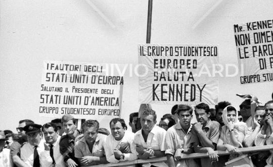 John Fitzgerald Kennedy - 1963 - visita Roma - 1 Luglio - 26