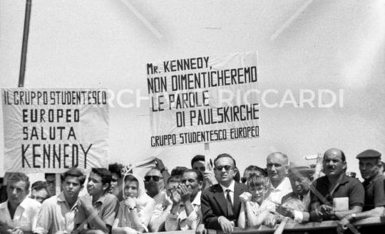 John Fitzgerald Kennedy - 1963 - visita Roma - 1 Luglio - 27