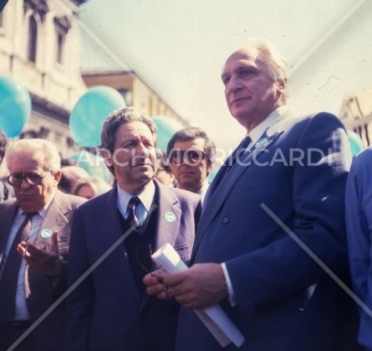 Marco Pannella e Flaminio Piccoli -001