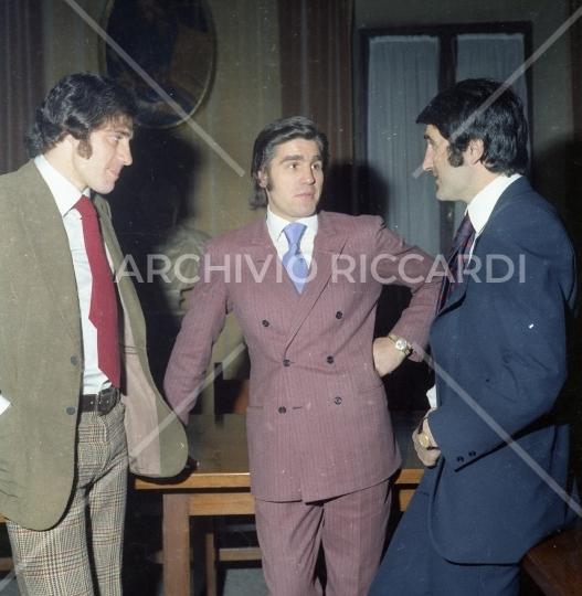 Nino Benvenuti e Chinaglia Giorgio alla premiazione al Campidoglio anno 1972 - 014