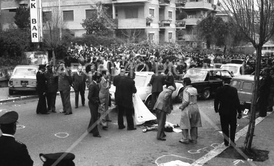 Rapimento Aldo Moro, via Fani 16 Marzo 1978 (18)
