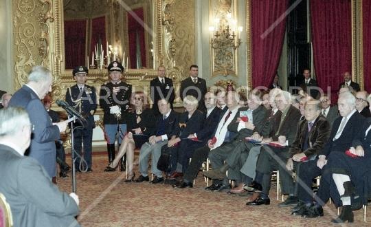 Sophia Loren - 2001 - Premio de Sica al Quirinale - 025