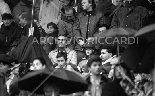 Vittorio Gassman - 1986 - 202 - allo stadio