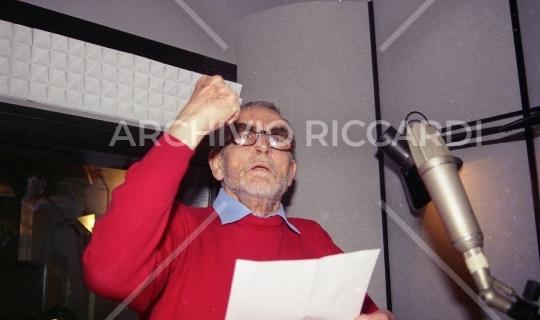 Vittorio Gassman - 1996 - 264 - Sala di doppiaggio