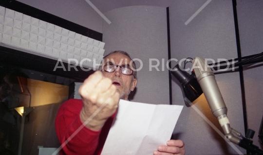Vittorio Gassman - 1996 - 265 - Sala di doppiaggio